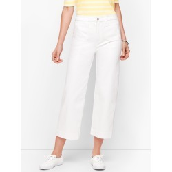 Wide Leg Crop Jeans - White - 18 Talbots found on Bargain Bro India from Talbots for $95.00