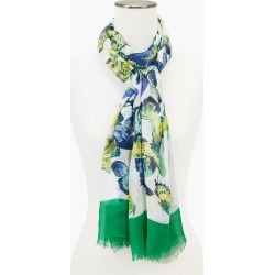 Gathering Butterfly Oblong Scarf - Ivory - 001 Talbots found on Bargain Bro from Talbots for USD $45.22