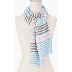 Variegated Stripes Oblong Scarf - Ivory - 001 Talbots found on Bargain Bro Philippines from Talbots for $22.49