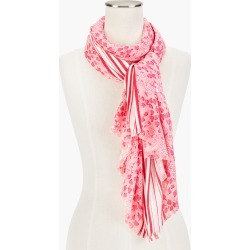 Lovely Floral Oblong Scarf - Preppy Pink - 001 Talbots found on Bargain Bro from Talbots for USD $45.22