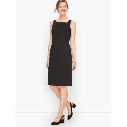 Sateen Stripe Sheath Dress - Black/White Stripe - 22 Talbots found on Bargain Bro Philippines from Talbots for $179.00