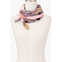 Paisley Oblong Scarf - Delicate Rose - 001 Talbots found on Bargain Bro India from Talbots for $27.49