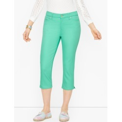 Pedal Pusher Jeans - Colors - Curvy Fit - Camp Green - 8 Talbots found on Bargain Bro from Talbots for USD $64.60