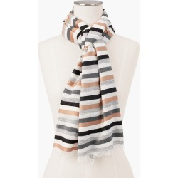 Stripe Neutrals Oblong Scarf - Rattan - 001 Talbots found on Bargain Bro India from Talbots for $22.49