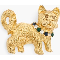 Yuletide Yorkie Brooch - Blue Majesty - 001 Talbots found on Bargain Bro India from Talbots for $17.49
