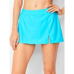 Miraclesuit® Vented Swim Skirt - Soft Turquoise - 12 Talbots found on Bargain Bro from Talbots for USD $41.79
