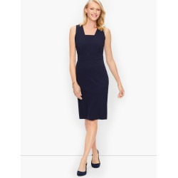 Italian Luxe Knit Sheath Dress - Navy Blue - 6 Talbots found on Bargain Bro Philippines from Talbots for $199.00