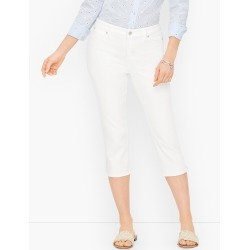 Pedal Pusher Jeans - Colors - Curvy Fit - White - 14 Talbots found on Bargain Bro from Talbots for USD $64.60