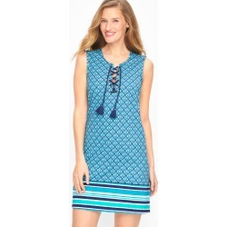 Cabana Life® Lace Up Coverup - Sapphire - Blue Sky - Large Talbots found on Bargain Bro from Talbots for USD $75.62