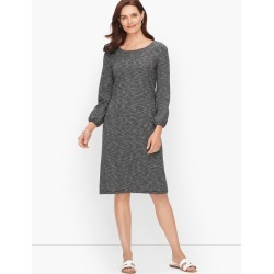 Jersey Knit Stripe Dress - Stripe - Black/White - Small - 100% Cotton Talbots found on Bargain Bro Philippines from Talbots for $69.99