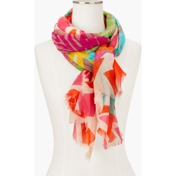 Echo Floral Oblong Scarf - White - 001 Talbots found on Bargain Bro India from Talbots for $22.49
