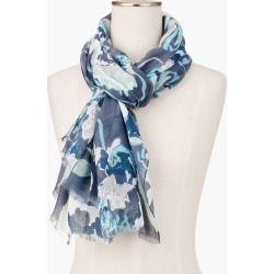 Tossed Floral Scarf - Iced Mint - 001 Talbots found on Bargain Bro India from Talbots for $27.49
