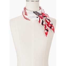 Dancing Petals Square Scarf - Ivory - 001 Talbots found on Bargain Bro India from Talbots for $22.49