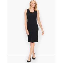 Italian Luxe Knit Sheath Dress - Black - 12 Talbots found on Bargain Bro Philippines from Talbots for $199.00