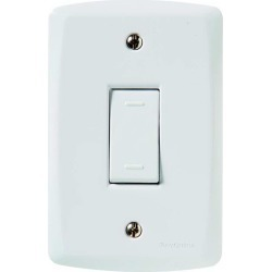 Conjunto Interruptor Paralelo Vertical 10A Tramontina Lux², 4x2, Branco found on Bargain Bro from Taqi for USD $4.07