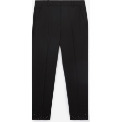 The Kooples - Flowing black pants with studs - WOMEN