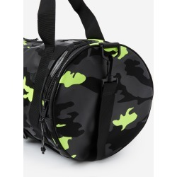 The Kooples - Zipped gym bag with camouflage print - MEN
