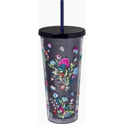 Vera Bradley Double Wall Tumbler with Straw in Itsy Ditsy found on Bargain Bro India from thepaperstore.com for $16.95