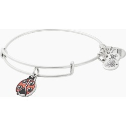 ALEX AND ANI Ladybug Charity By Design Bangle in Rafaelian Silver Finish found on Bargain Bro Philippines from thepaperstore.com for $38.00