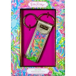 Lilly Pulitzer Key Fob in Lovers Coral