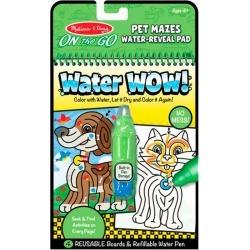 Melissa and Doug Water WOW! Pet Mazes - ON the GO Travel Activity