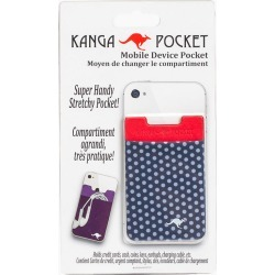 Kanga Pocket Kanga Cell Phone Pocket in Polka Dot