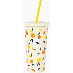 kate spade new york Citrus Twist Tumbler with Straw found on Bargain Bro India from thepaperstore.com for $18.00
