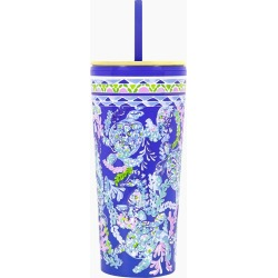 Lilly Pulitzer Turtle Villa Tumbler with Straw found on Bargain Bro India from thepaperstore.com for $18.95
