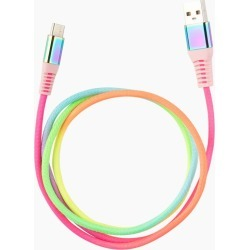 Sarina Rainbow Lightning Charging Cable (6 ft.) found on Bargain Bro India from thepaperstore.com for $17.99