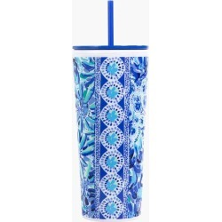 Lilly Pulitzer High Maintenance Tumbler with Straw found on Bargain Bro India from thepaperstore.com for $18.00
