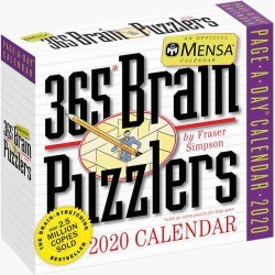 Workman Publishing Mensa 365 Brain Puzzlers 2020 Day-to-Day Calendar