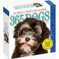 Workman Publishing 365 Dogs 2020 Day-to-Day Calendar