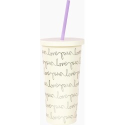 kate spade new york Love Tumbler with Straw found on Bargain Bro India from thepaperstore.com for $18.00