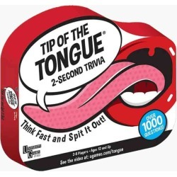 University Games Tip of the Tongue Trivia Game