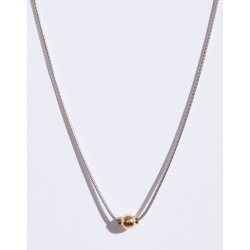 Cape Cod Jewelry Two-Tone Single Ball Cape Cod Jewelry Collection Necklace