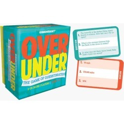 Gamewright Over/Under Card Game