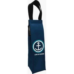 Life is Good Life is Good Anchor Wine Tote