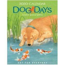 Art for Everyday Dog Days 2020 Calendar