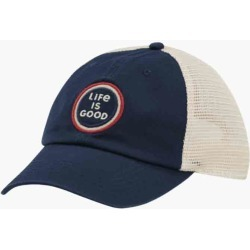 Life is Good Life is Good Coin Soft Mesh Back Cap