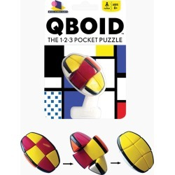 Gamewright Qboid Pocket Puzzle Game