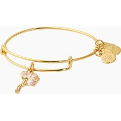 ALEX AND ANI Pink Tulips Charm Bangle   Breast Cancer Research Foundation