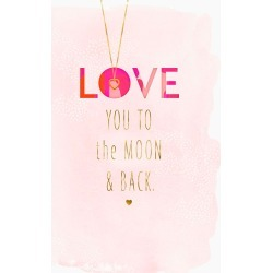 Hallmark Love You to the Moon and Back Mother's Day Card
