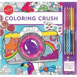 Klutz Coloring Crush Coloring Book