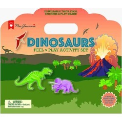 Mrs. Grossman's Dinosaurs Peel and Play Activity Set