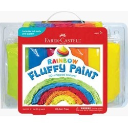 Creativity for Kids Rainbow Fluffy Paint Craft Kit