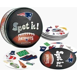 Masterpieces Puzzle Company New England Patriots Spot It! Game