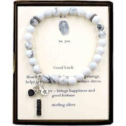 B.U. Jewelry Good Luck Beaded Bracelet