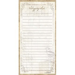 C.R. Gibson Perfect Setting Magnetic Shopping List Pad