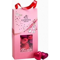Godiva Limited Edition Valentine's Day Heart Chocolates Gift Bag