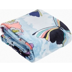 Vera Bradley Plush Throw Blanket in Butterfly By